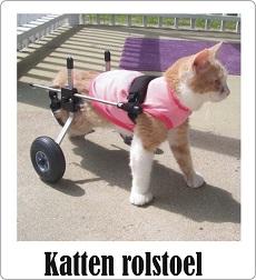 katten rolstoel